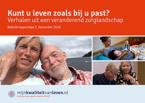 Mijnkwaliteitvanleven.nl Beleidsrapportage 3 - december 2016